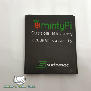 Picture of the mintyPi battery